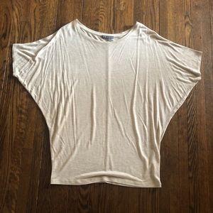Vince light weight raglan sleeve t-shirt